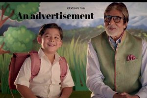 An advertisement on awareness By Amitabh Bachan