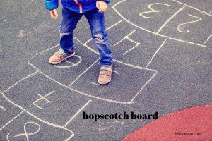 hopscotch board Game