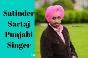 speak on Satinder Sartaj Punjabi Singer