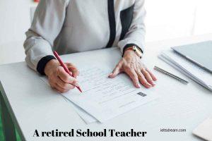 etired School Teacher