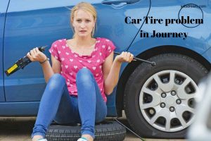 Car Tire problem in Journey