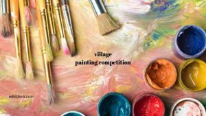 village painting competition