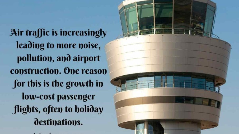 Air traffic is increasingly leading to more noise