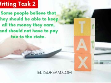 Some people believe that they should be able to keep all the money tax