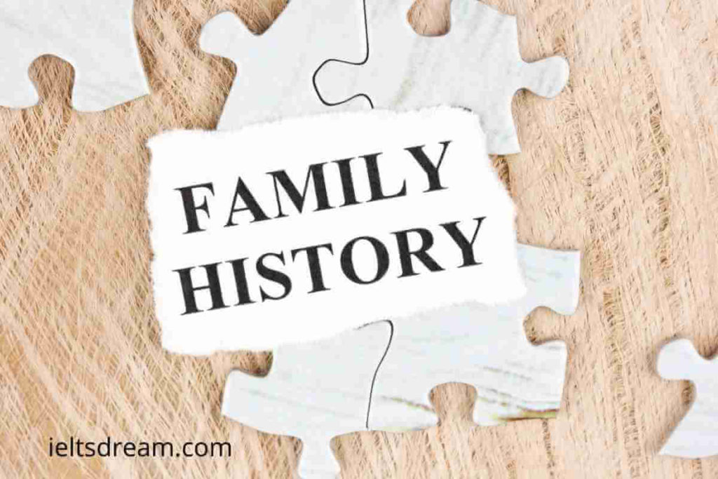 In Many Parts of the World People Look up Their Family History